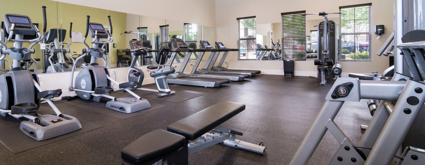 Fully Equipped Fitness Center with ample machines